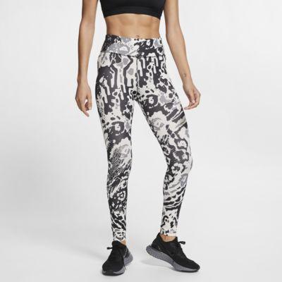 Nike Fast mintás, 7/8-os testhezálló női futónadrág
