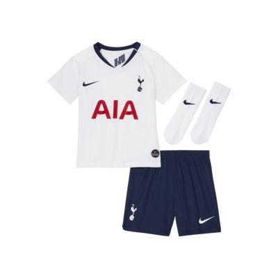 Kit de fútbol de local para bebé e infantil del Tottenham Hotspur 2019/20