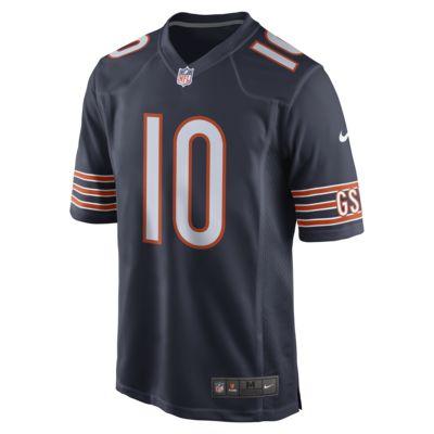 Męska koszulka meczowa do futbolu amerykańskiego NFL Chicago Bears (Mitch Trubisky)