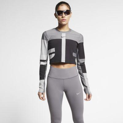 Haut de running en maille Nike Tech pour Femme