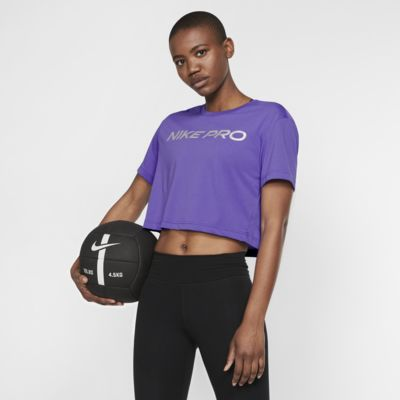 Nike Dri-FIT-trænings-T-shirt til kvinder