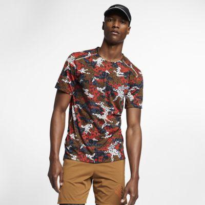 Ανδρική κοντομάνικη μπλούζα για τρέξιμο Nike Breathe Rise 365