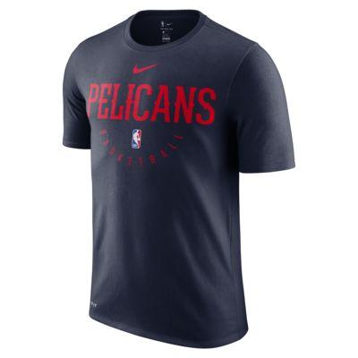 New Orleans Pelicans Nike Dri-FIT NBA-s férfipóló