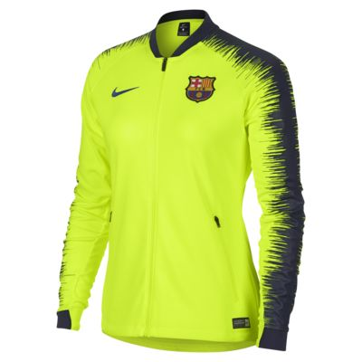 FC Barcelona Anthem Women's Football Jacket