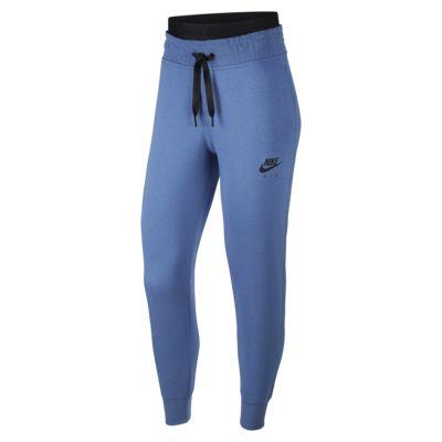 Calças de lã cardada Nike Air para mulher