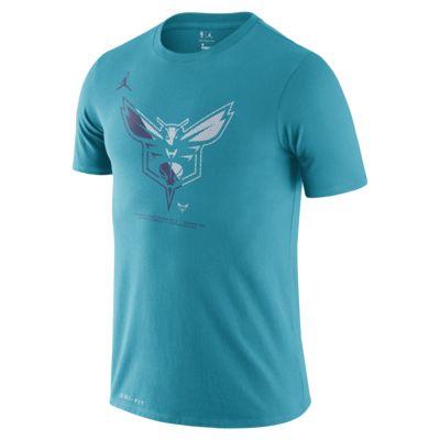 Ανδρικό T-Shirt NBA Charlotte Hornets Jordan Dri-FIT