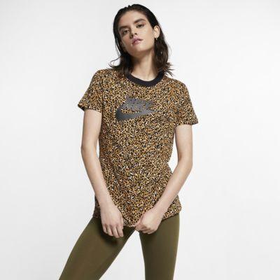 Nike Sportswear Animal Print Damen-T-Shirt