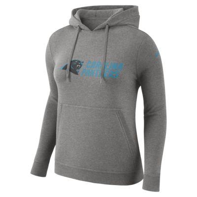 Nike Club Fleece (NFL Panthers) Women's Fleece Pullover Hoodie