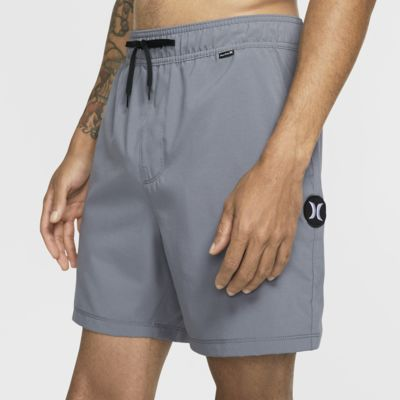 Hurley One And Only Volley Herren-Boardshorts (ca. 43 cm)