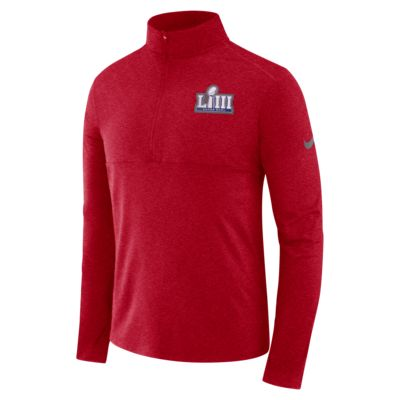 Nike Super Bowl LIII Men's Long-Sleeve 1/2-Zip Top