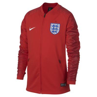 Chamarra de fútbol para niños talla grande England Anthem