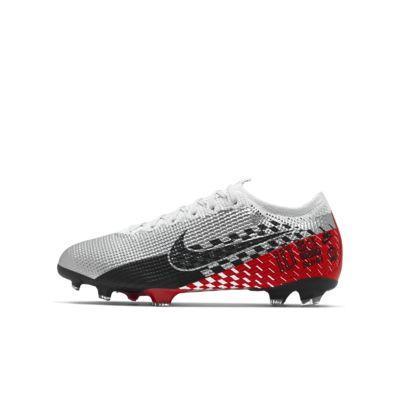 Chaussure de football à crampons pour terrain sec Nike Jr. Mercurial Vapor 13 Elite Neymar Jr. FG pour Enfant