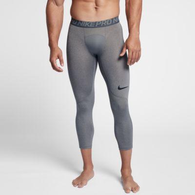 Pánské tříčtvrteční tréninkové legíny Nike Pro
