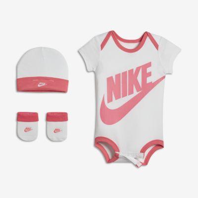 Tredelat set Nike Futura för baby (tjejer)