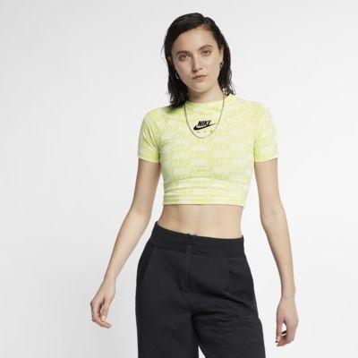 Nike Air Damestop met print en korte mouwen