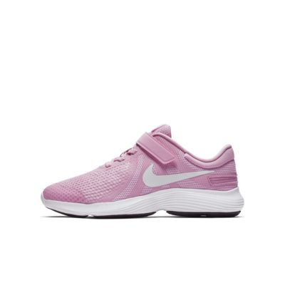 Nike Revolution 4 FlyEase 4E-løbesko til store børn