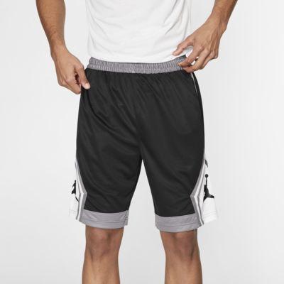 Мужские баскетбольные шорты в полоску Jordan Jumpman Diamond