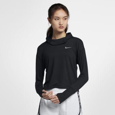 Nike-løbehættetrøje til kvinder