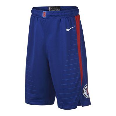 LA Clippers Nike Icon Edition Swingman Big Kids' (Boys') NBA Shorts