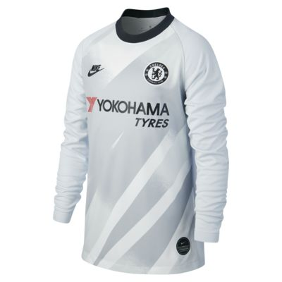 Camiseta de fútbol de arquero para niños talla grande Stadium Goalkeeper del Chelsea FC 2019/20