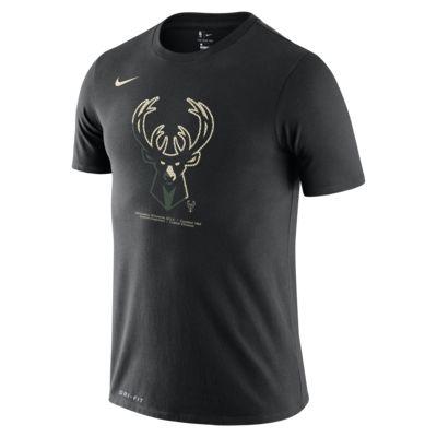 Tee-shirt NBA Milwaukee Bucks Nike Dri-FIT pour Homme