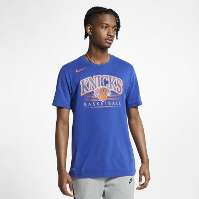 New York Knicks Nike Dri-FIT NBA-s férfipóló