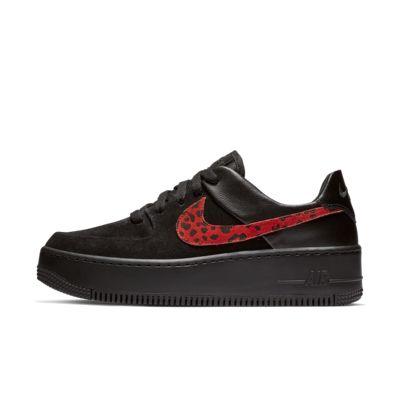 Scarpa Nike Air Force 1 Sage Low Premium Animal - Donna