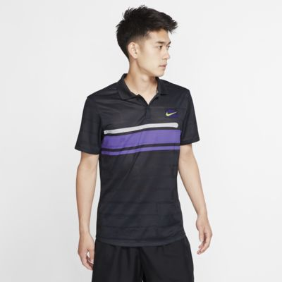 NikeCourt Advantage-tennistrøye for herre