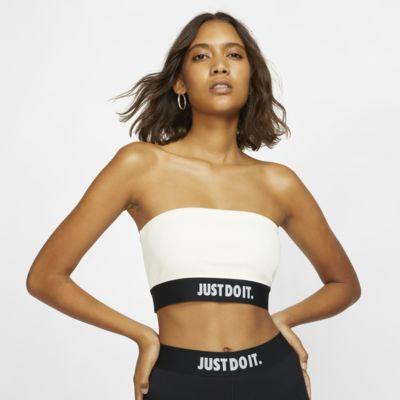 Ribbad tubtopp Nike Sportswear JDI för kvinnor