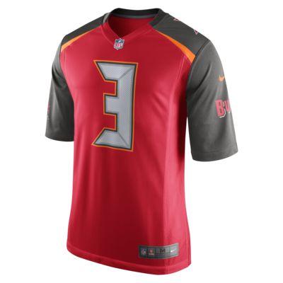 Camiseta oficial de fútbol americano de local para hombre NFL Tampa Bay Buccaneers (Jameis Winston)