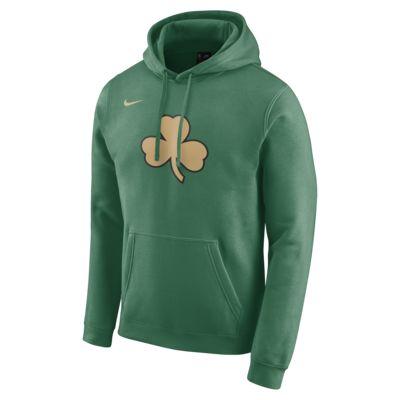 Boston Celtics City Edition Logo Nike NBA Hoodie