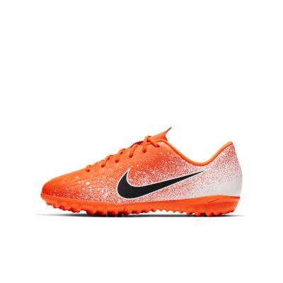 Nike Jr. Vapor 12 Academy TF 小/大童人工短草草皮英式足球鞋
