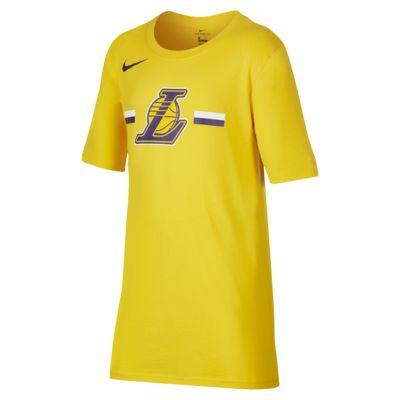 洛杉矶湖人队 Nike Dri-FITNBA 大童(男孩)T恤