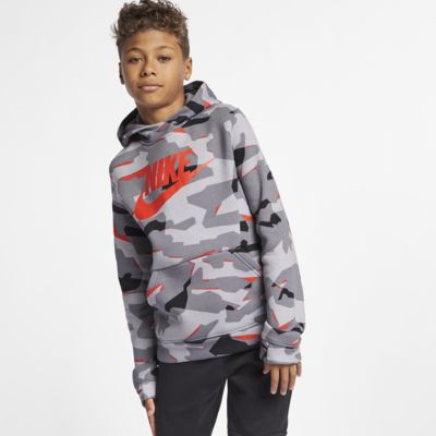 Nike Sportswear Camo-Hoodie für ältere Kinder (Jungen)