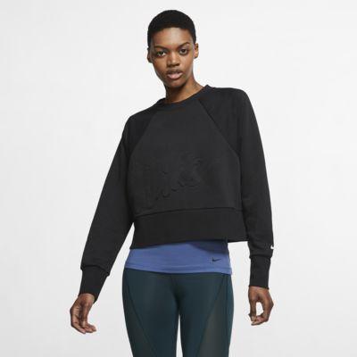 Nike Dri-FIT Get Fit Dessuadora de teixit Fleece d'entrenament - Dona