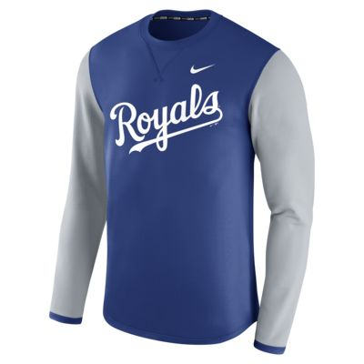 Nike Thermal Crew (MLB Royals) Men's Long Sleeve Shirt