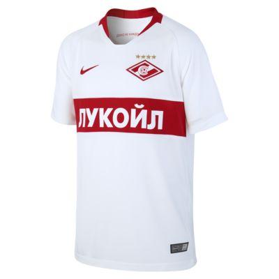 2018/19 FC Spartak Moscow Stadium Away Older Kids' Football Shirt