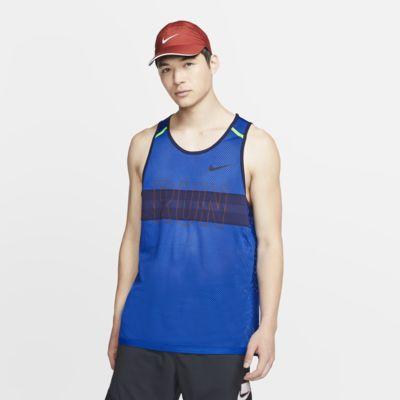 Haut de running sans manches en mesh Nike Wild Run pour Homme
