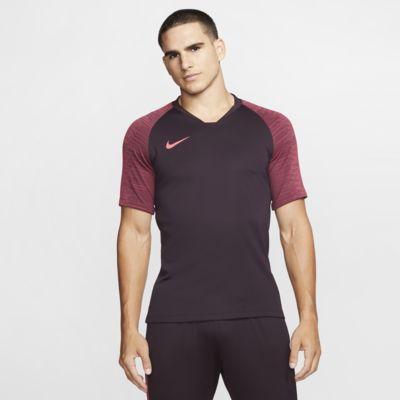 Kortærmet Nike Breathe Strike-fodboldtrøje til mænd