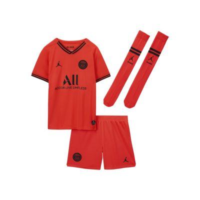 Kit para niños talla pequeña de visitante Paris Saint-Germain 2019/20