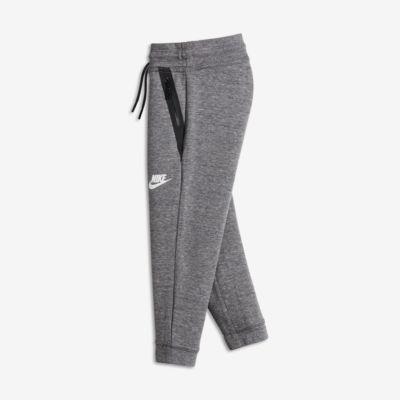 Byxor Nike Tech Fleece för små barn (tjejer)