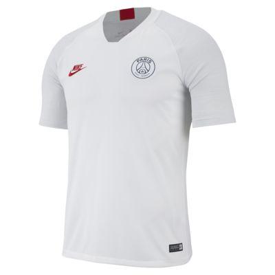 Męska koszulka piłkarska z krótkim rękawem Nike Breathe Paris Saint-Germain Strike