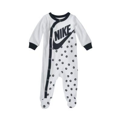 Μακρυμάνικη ολόσωμη φόρμα με κλειστά ποδαράκια Nike για βρέφη (0-9M)
