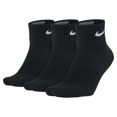Chaussettes Nike Cotton Cushion Quarter (3 paires)