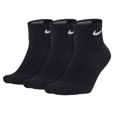 Nike Cotton Cushion Quarter Socken (3 Paar)