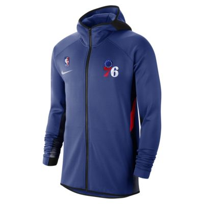 Sweat à capuche NBA Philadelphia 76ers Nike Therma Flex Showtime pour Homme