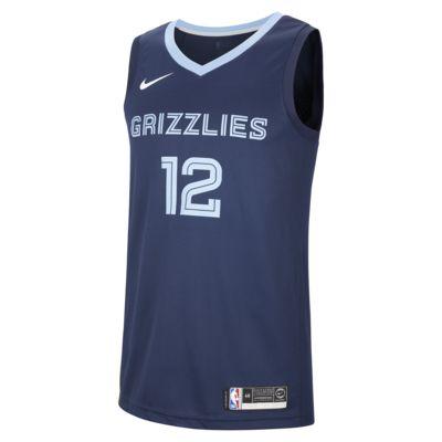 Ja Morant (NBA) Icon Edition Swingman (Memphis Grizzlies) Men's Nike NBA Connected Jersey