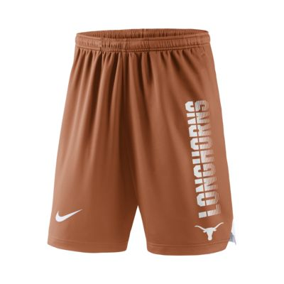 Nike College Breathe Player (Texas) Men's Shorts