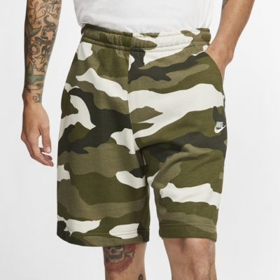 Short camouflage en molleton Nike Sportswear Club pour Homme