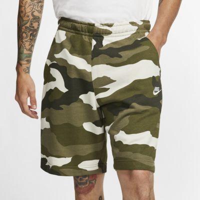 Nike Sportswear Club Men's French Terry Camo Shorts